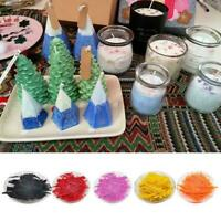 10g Candle Wax Dye Flakes Paints Pigment Chip Paraffin Melts Colouring F5A5