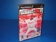 Major League Baseball 2K11 MLB 2k11 (Sony Playstation 2 PS2)  ***NEW SEALED***
