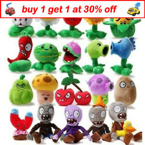 PLANTS vs. ZOMBIES Soft Plush PVZ Toy Teddy Stuffed Doll Kids Birthday Gift QW