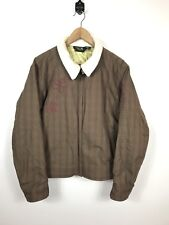 Womens Mountain Hardwear Large Brown Floral Winter Fleece Lined Insulated Jacket