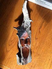 Junior Cobb Tree Spirit Singed Carving
