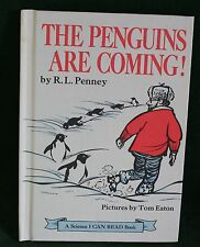 The Penguins Are Coming by R.L. Penney, 1969  Vintage Children's Book