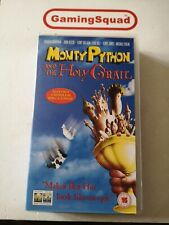 Monty Python and the Holy Grail VHS Video PAL, Supplied by Gaming Squad