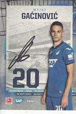 Mijat GACINOVIC - Serbien, TSG 1899 Hoffenheim 2020/21, Original-Autogramm!