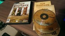 AGE OF EMPIRES III Pc Cd Rom AOE 3 - RTS - FAST DISPATCH * FREE UK POST **