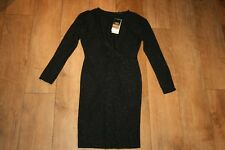 NEW&TAGS NEXT black sparkle dress SIZE 8 TWIST BACK party evening occasion RP£42