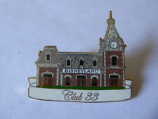 Disney Trading Pins 36726 Disneyland Club 33 Main Street Train Station artist pr
