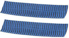 "OMP VIBE String Silencers 5"" Blue w/Black 2 Pack"
