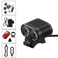 5000LM T6 LED Bicycle Headlight Mini MTB Road Bike Cycling Front Lamp Waterproof