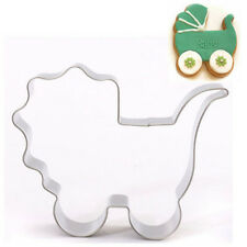Baby Carriage Stainless Steel Cookie Cutter Cake Baking Mould Biscuit ☆