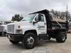 2003 Chevrolet C7500 5 Yard S/A Dump Truck CAT 7.2L A/C PTO Tarp bidadoo