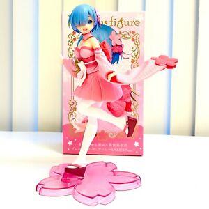 Re Zero Starting Life in Another World Figure Toy Rem Sakura Version T83375