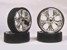 Hoppin Hydros 1/24 1/25 scale MONSTER 24s TIKI Wheels Rims & Tires Model Car Kit