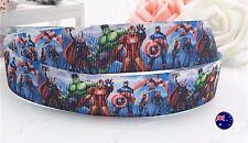 2 Meters Avengers Hero Birthday Party Favor Gift Wrap Grosgrain Organza Ribbon