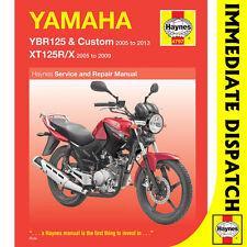 [4797] Yamaha YBR125 YTR125R YTR125X 2005-2013 Haynes Workshop Manual