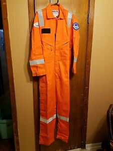 Walls FR Flame Resistant Coverall Men's 42 Reg HRC 2, ATPV/ARC Rating 9.6 New
