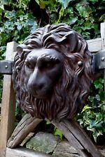Metal coat rack Lion head design handmade unique hotel B&B pub only one made !!!