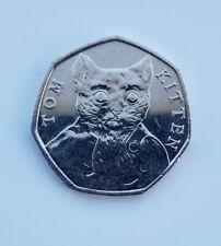 2017 Uk 50p Coin - Tom Kitten - Coin Hunt