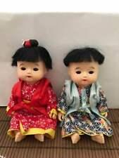 Japanese Pair Hai hai dolls Boy and Girl