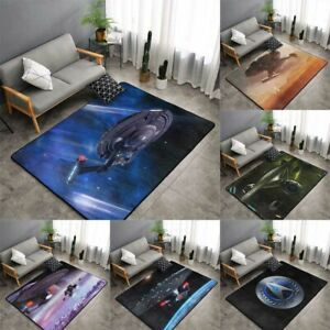 Star Trek Rugs Anti-Skid Area Rug Living Room Bedroom Floor Mat Carpet All Sizes