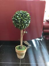 60cm (2ft) Artificial Boxwood Buxus Ball Topiary Tree Indoor Use