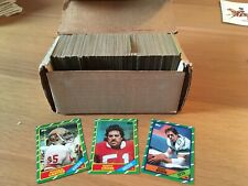 1986 Topps Football Cards Set Mint