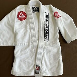Gracie Barra Official Kimono Top Gi Jacket Only Size M2 Youth Y2