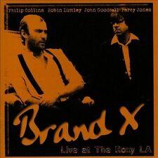 Live at the Roxy L.A. 1979 by Brand X (CD, Nov-2013, Gonzo Distribution Ltd.)