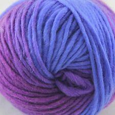 SALE 1ballx50g NEW Chunky Colorful Hand Knitting Wool Yarn Blue lilac Pale Pink