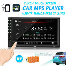 Double DIN 7 inch Car Radio GPS Bluetooth Audio Stereo Car Multimedia MP5 Player