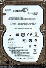 SEAGATE SATA 500GB  ST9500325AS,   9HH134-567,   0002BSM1,  SU,  S2W