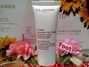 """CLARINS Foot Beauty Treatment Cream ◆50ML◆ Beautifies Nails """"SEALED NEW BN"""