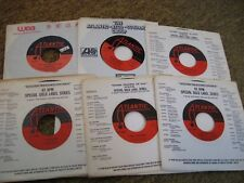 Wilson Pickett/ Lot of six 45s/ Atlantic/ Canada/ VG+ to VG++