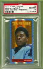 2012 Topps Chrome Kendall Wright 1965 refractor PRISM #/50 RC PSA 10 Gem Mint