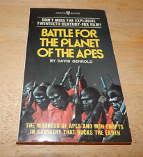 Battle For The Planet of The Apes David Gerrold Paperback 1973