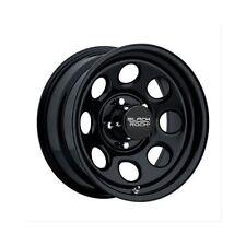 "Black Rock Series 997 Type 8 Matte Black Wheel 17""x8"" 5x4.75"" BC Set of 4"