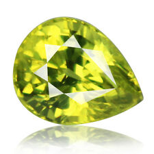 2.54ct 100% Natural earth mined alexandrite family yellowish green chrysoberyl