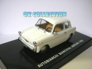1:43 modellino AUTOBIANCHI BIANCHINA BERLINA - 1962 - Fantozzi