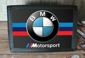 BMW Motorbike MotorSport Motorcycle Nylon Wallet Ideal Xmas Gift