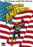 """SIMON & KIRBY CLASSIC FIGHTING AMERICAN MARVEL HARDCOVER """"SEALED"""""""