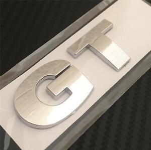 GT Badge For VW GOLF MK5 MK6 TDI TSI FSI REAR BOOT EMBLEM **NEW**