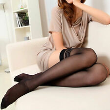 Women Sexy Thigh High Stockings Tights Hold Ups Stay Hot Top Up Lace T0F9
