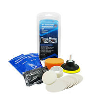 Car Headlight Lens Restoration System Professional Restorer Polishing Tool HQ
