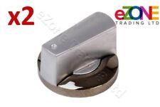 2x Control Knob fits LINCAT Griddles KN138, KN232 Shaft size 8mm x 6.5mm