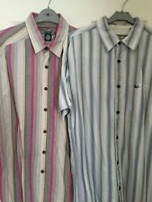 Fat Face Loose Fit Short Sleeve Striped Men's Casual Shirts & Tops