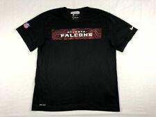 Atlanta Falcons Nike Short Sleeve Shirt Men's Black Dri-Fit Used Multiple Sizes