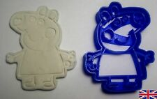 Peppa Pig Cookie Cutter Cake Decoration UK SELLER