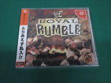 SEGA Dreamcast -- WWF ROYAL RUMBLE -- JAPAN. GAME Sealed & New. 33232