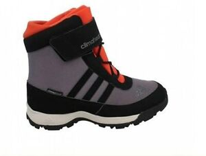 Adidas ADISNOW II CF B33213 Climaheat and Climaproof Snow Boots Size UK 1 Eur 33