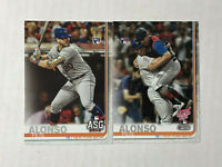 PETE ALONSO LOT OF 2 2019 Topps Update ASG RC #US47 + HR Derby RC #US262!